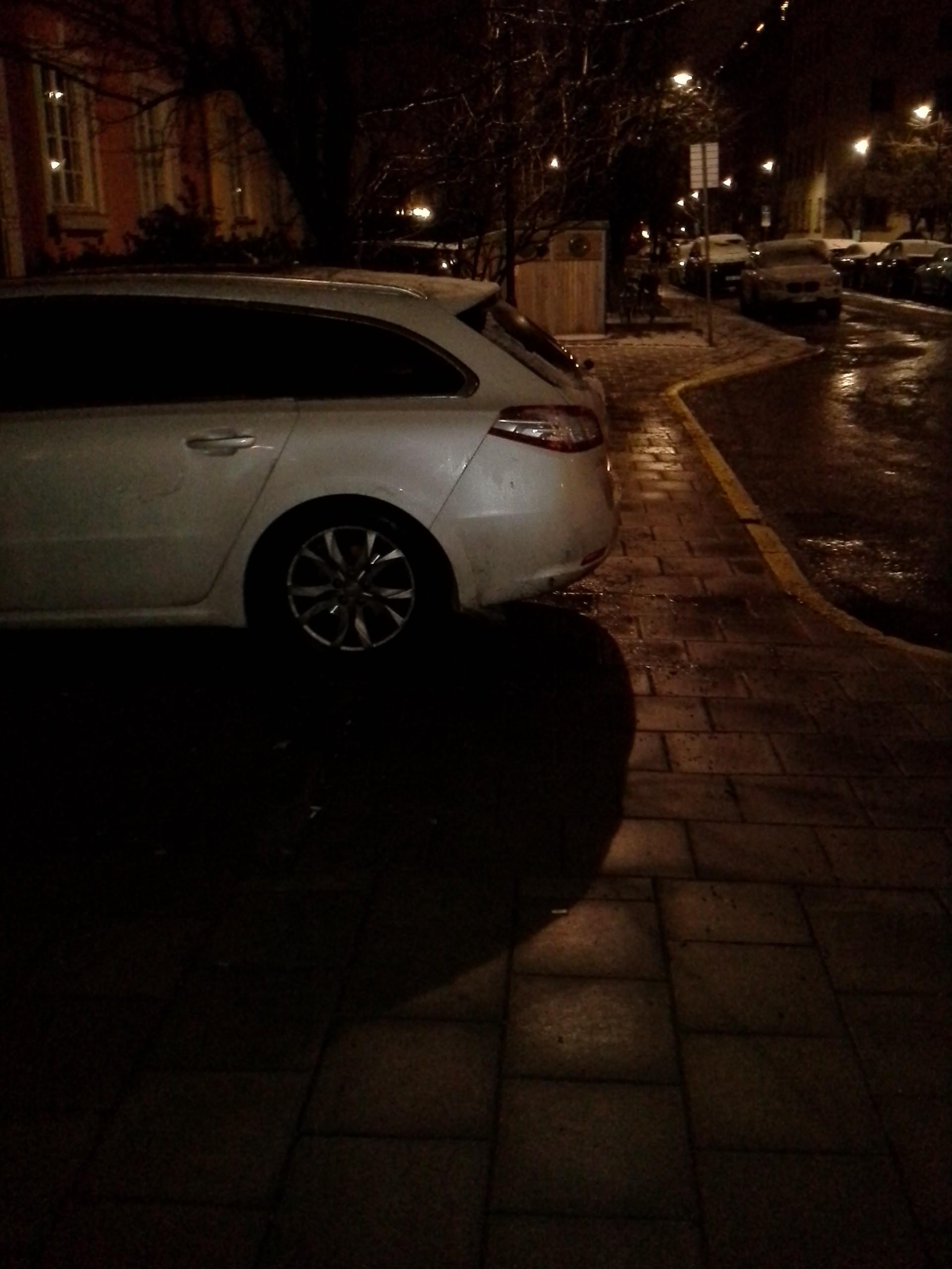 parkering obevakat övergångsställe